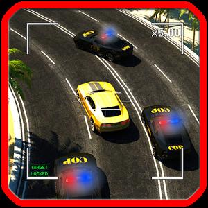 Hırsız Polis 3D Araba ikon