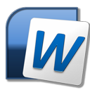 Microsoft Word ikon