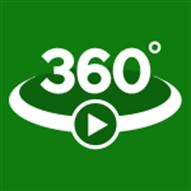 Video 360 ikon