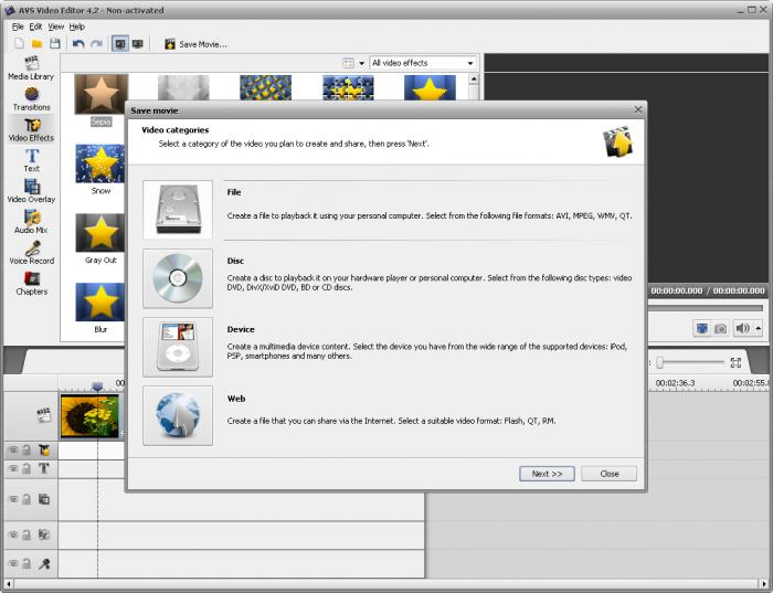 how to activate avs editor