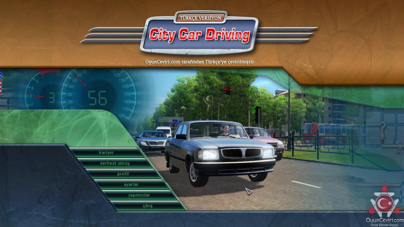 City Car Driving Türkçe Yama 1