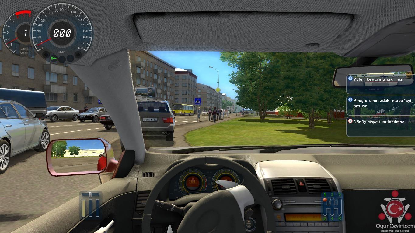 City Car Driving Türkçe Yama