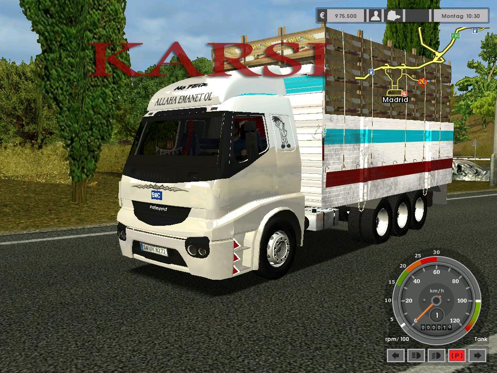 Euro Truck Simulator Türkçe Yama