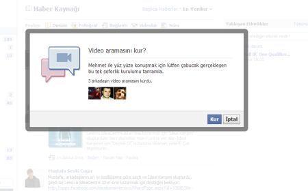 Facebook Görüntülü Programı 2