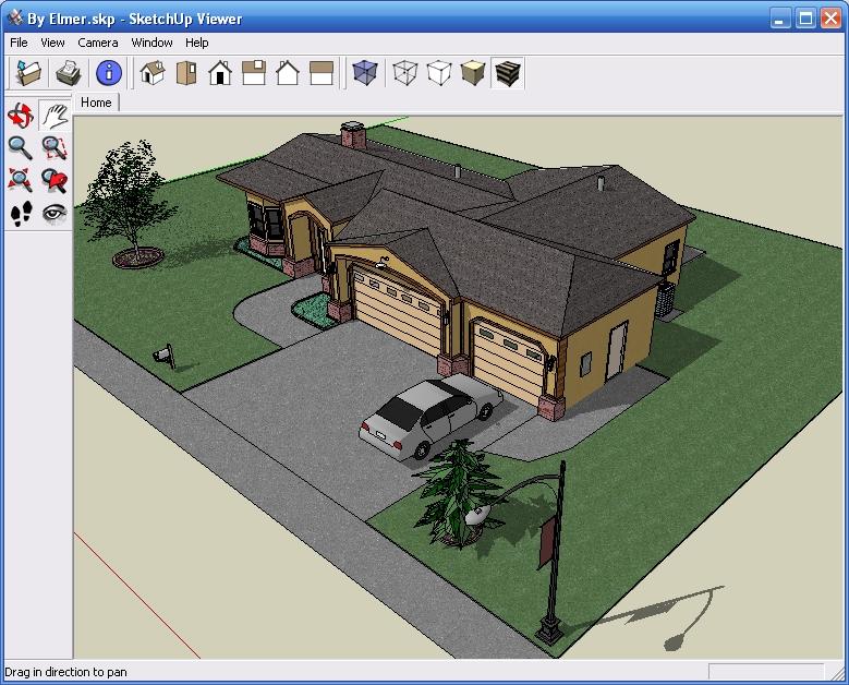 Google sketchup ndir son s r m for Programa para remodelar casas gratis