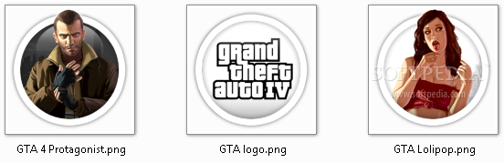 GTA 4 Dock Icons
