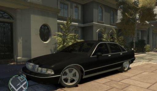 GTA IV Addon - 1991 Chevrolet Caprice Lowered