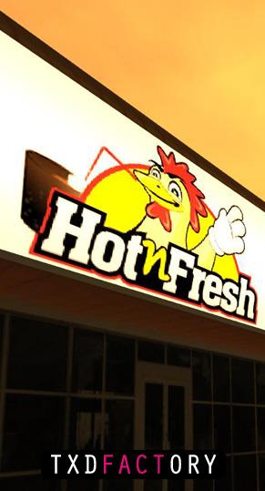 GTA: San Andreas - Hot'n'Fresh Resturant Mod