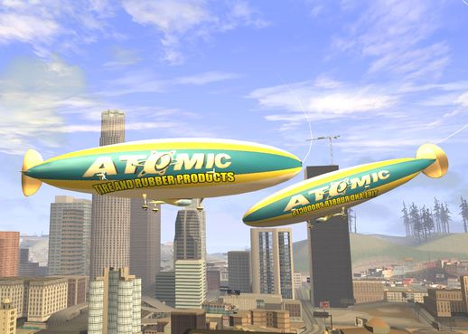 GTA: San Andreas Addon - GTA V Atomic Airship