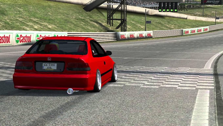 LFS Honda Civic 1998 Yaması indir - Live For Speed 1998 ...