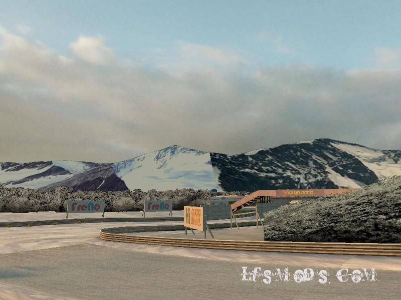 LFS Snow Mod Kış Modu Yaması
