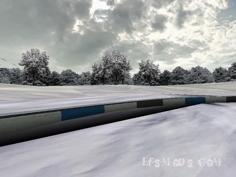 LFS Snow Mod Kış Modu Yaması 4