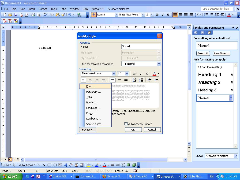 Microsoft Office 4