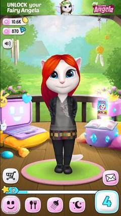 Girl Games Talking Tom Cat