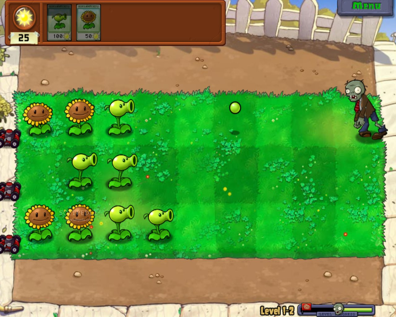 Plants vs Zombies +4 Trainer 1