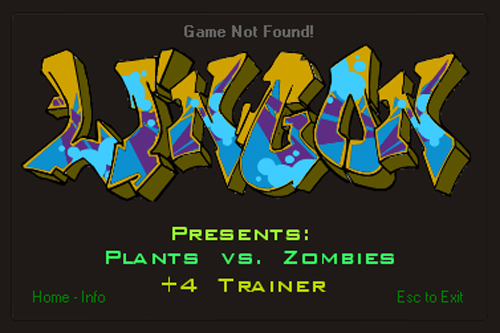Plants vs Zombies +4 Trainer 3