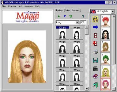 Saç Rengi Değiştirme Programı 2