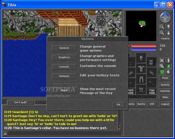 Tibia Client screenshot